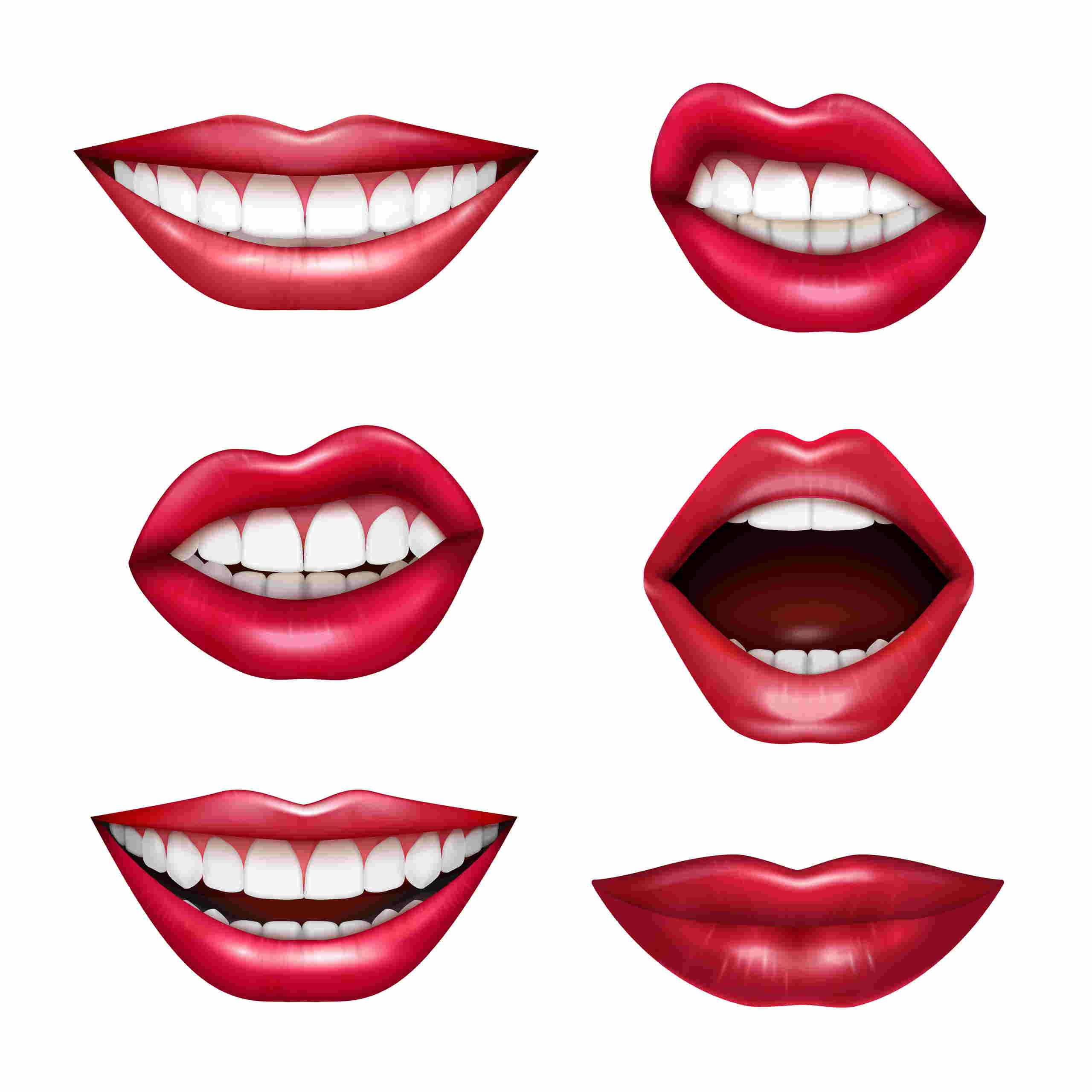 Partes del cuerpo en inglés boca