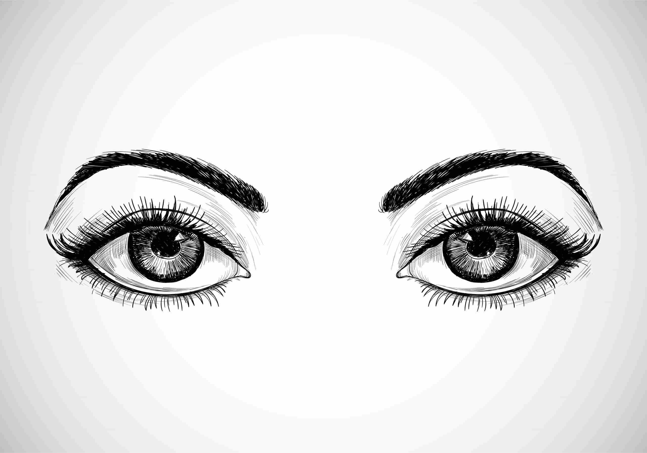 Vocabulario en inglés partes del cuerpo ojos