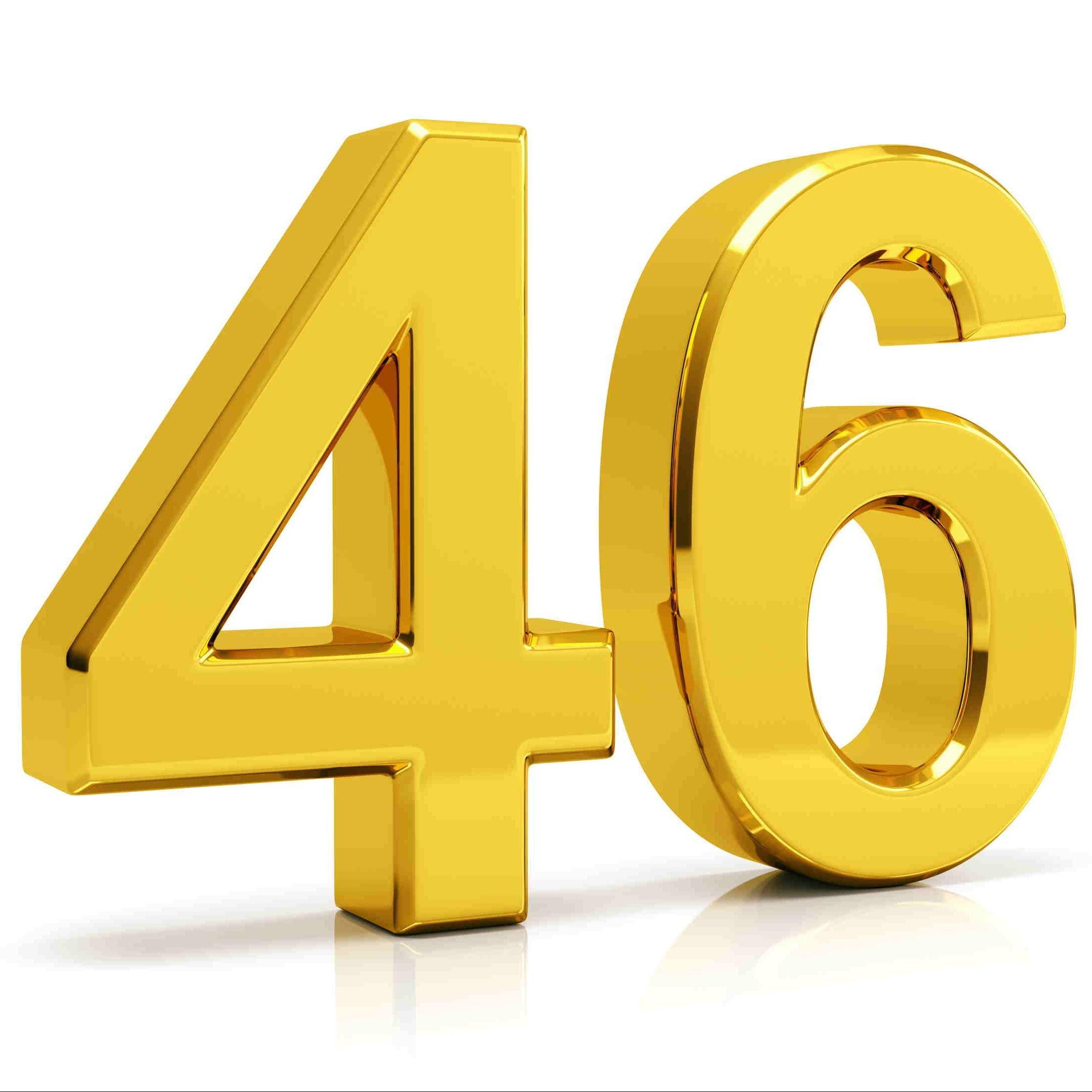 Números en inglés 46