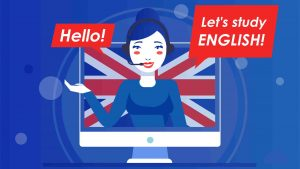 cursos inglés profesora enseñando inglés