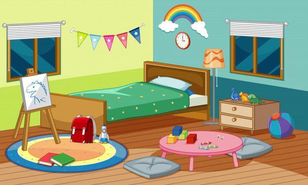 dormitorio de una casa