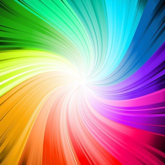 Remolino de colores